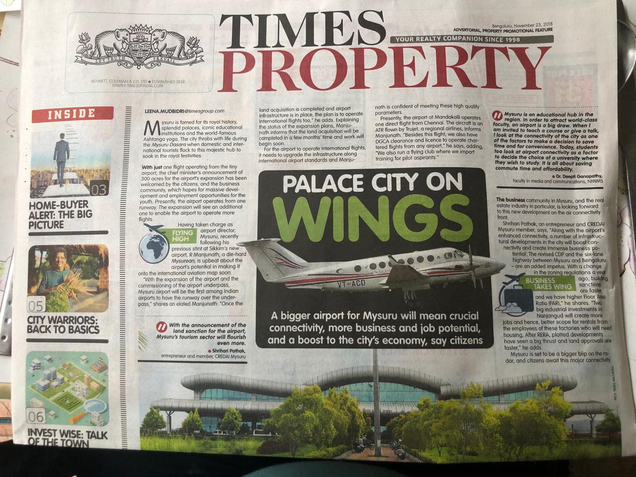 Palace City on Wings